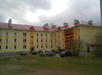 Общий вид на жилой дом Глажево